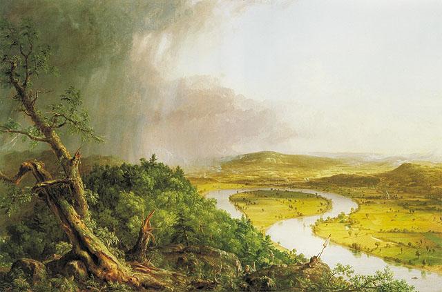 美國哈德遜河畫派 作品之一